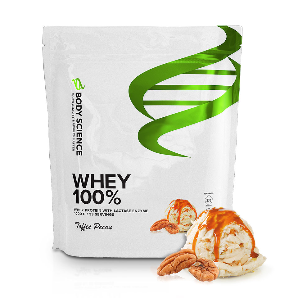 Body Science Whey 100% Toffee Pecan