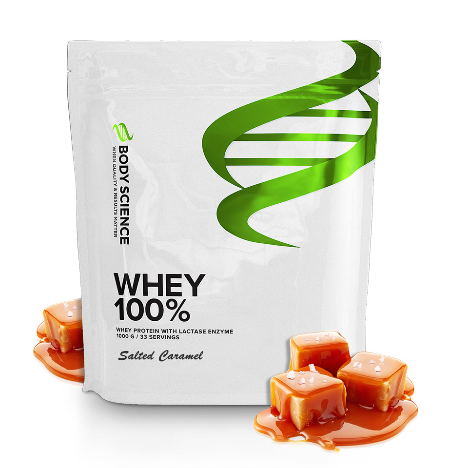 Body Science Whey 100% Salted Caramel